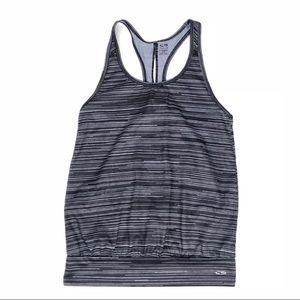 Champion Activewear DuoDry Black & Gray Tank Top